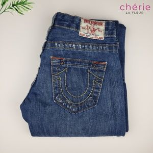 True Religion   Bobby Distressed Bootcut Jeans 24